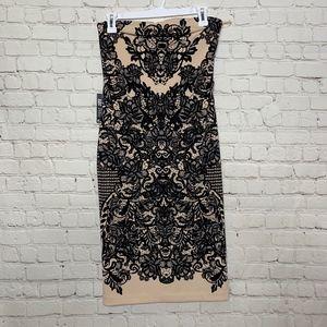 { Express } Strapless NWT Midi Dress